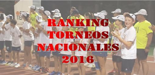 MEJORES TORNEOS NACIONALES DE TENIS