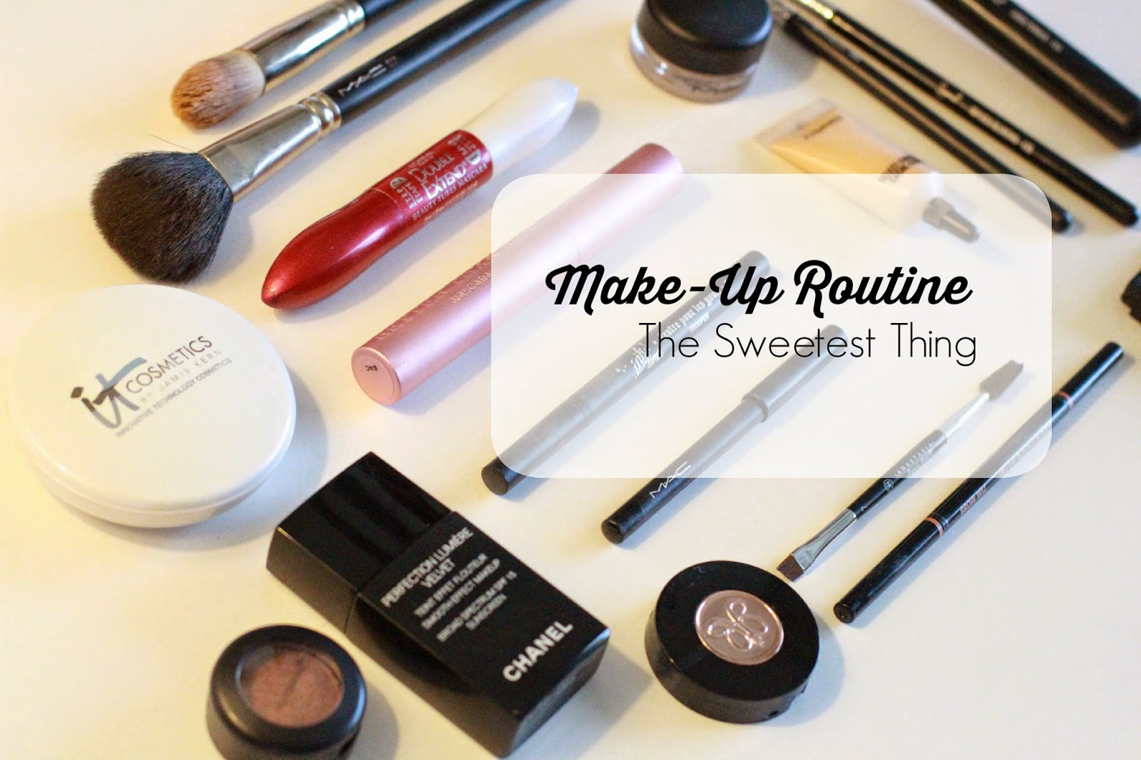 a Set Make-up Routine