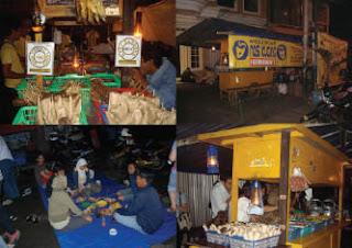 ANgkringan Fatmawati, Nasi kucing, jajanan malam, khas solo, tempat nongkrong