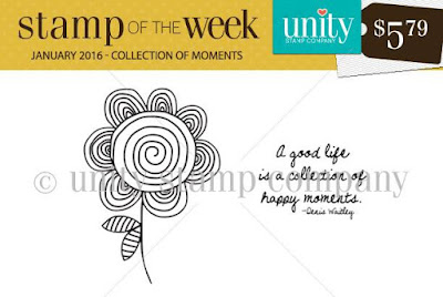 Unity Stamp Company: SOTW 210 - Collection of Moments #unitystampco #scrappyscrappy #sotw #card #stamp