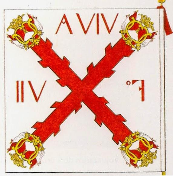 Bandera del Batallón de Infantería de Milicias de Voluntarios de Montevideo