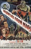 Portada Película Invasores de Marte