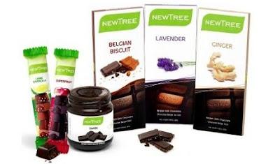20 coffrets de chocolats Newtree