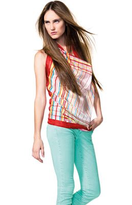 pantalones Benetton mujer