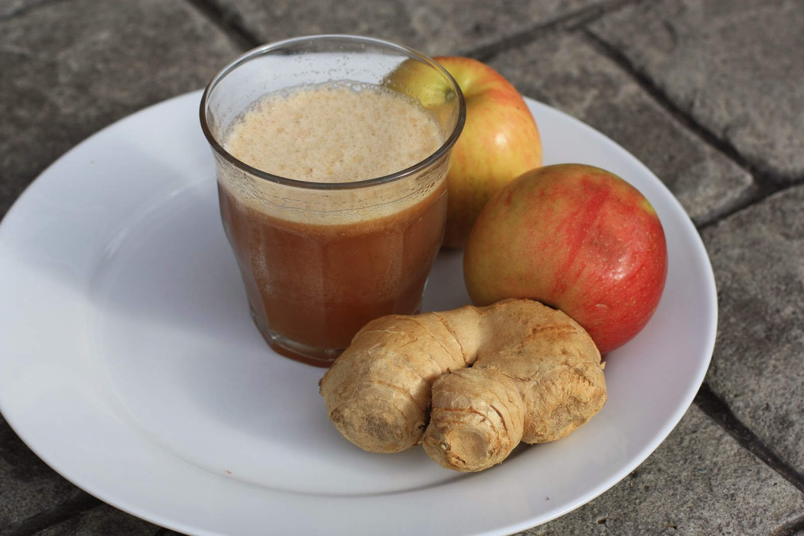 jamaican apple and ginger juice