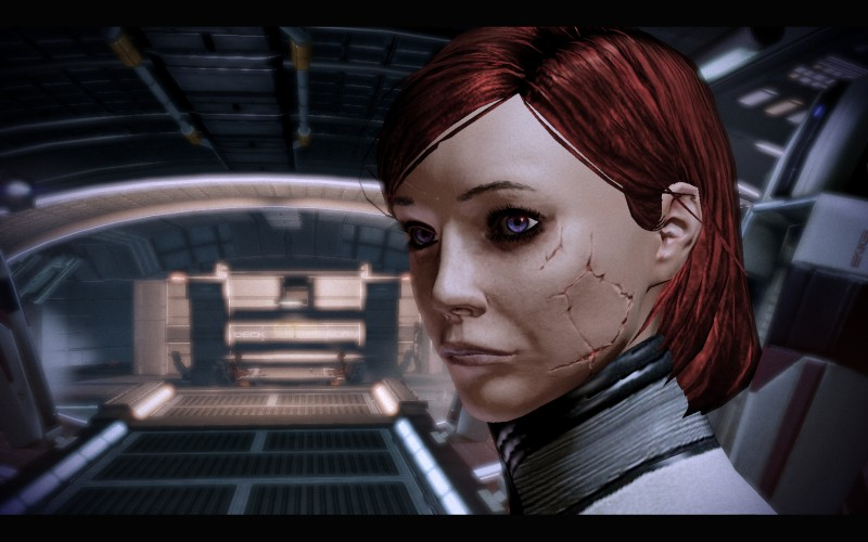 mass effect how to play renegade bottom text