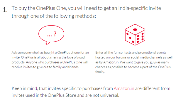 Steps1 for get oneplus-one