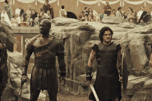 pompeii adewale akinnuoye-agbaje kit harington