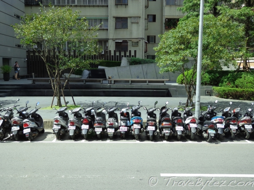 Scooters in Taipei
