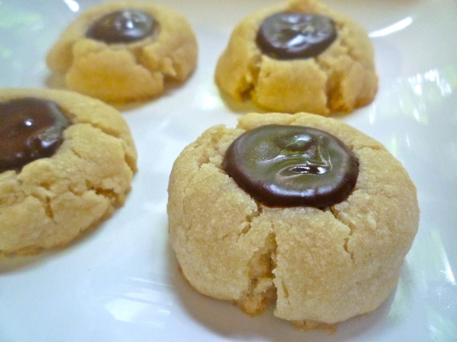 What's Baking in the Barbershop?!: Chocolate Thumbprint Cookies