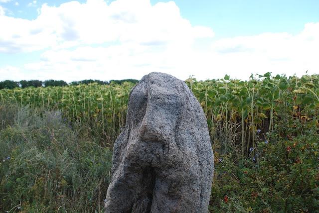 Каменная баба, Софиевский район, Николаевская область.