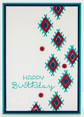 Bohemian Boarders Birthday Card - Make in a Momen