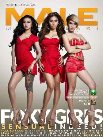 Download MALE Edisi 016 - Foxy Girls