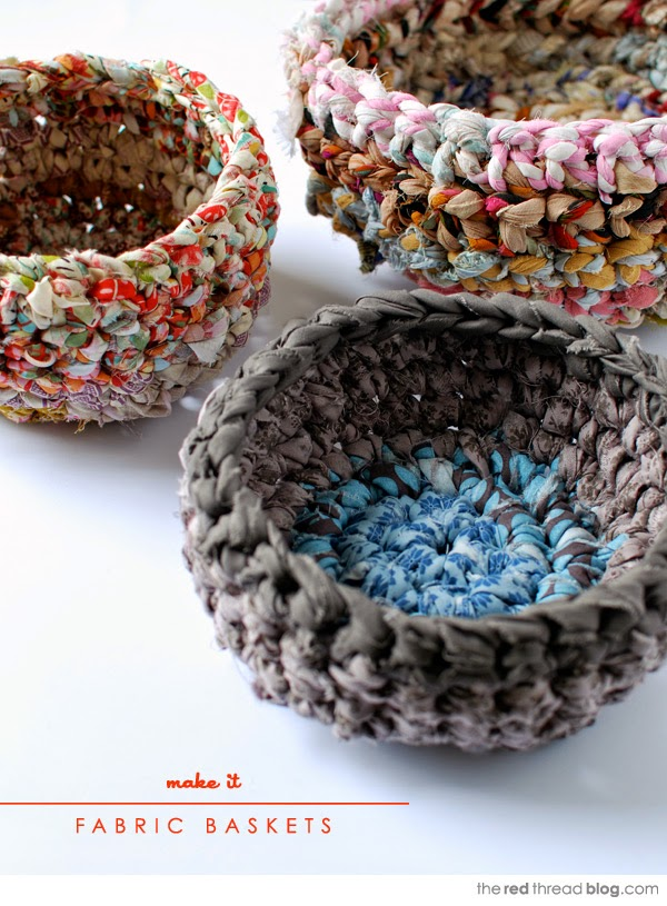 Tutorial Beginner S Crochet Make A Fabric Basket Handy Diy