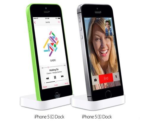 Apple venderà in concomitanza con l'inizio delle vendite dell'iPhone 5S e 5C i rispettivi docks