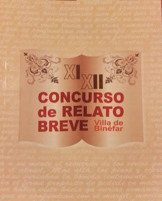 XI y XII Concurso de relato Breve Villa de Binéfar