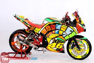 Foto-Foto Modifikasi Ninja 250 R