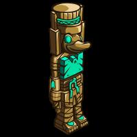 Aztec Duck Totem