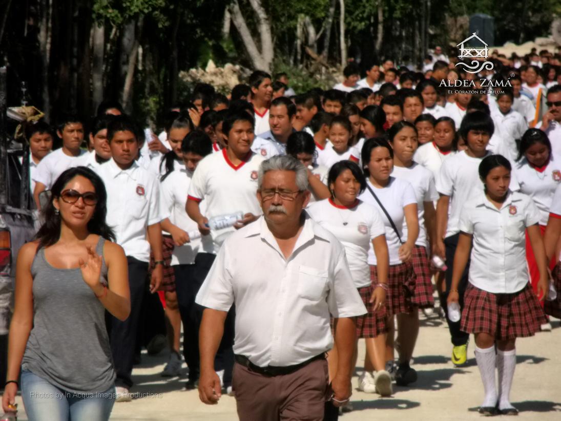 """Aldea Zamá: """"Gran interés de niños y jóvenes por visitar la"""