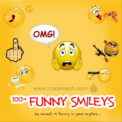 Largest Collection of Facebook Chat codes for Latest Smileys & Emoticons funny cool crackroach