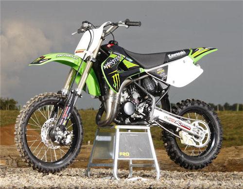 Kawasaki KX85 II Monster Energy  2012    Thebest
