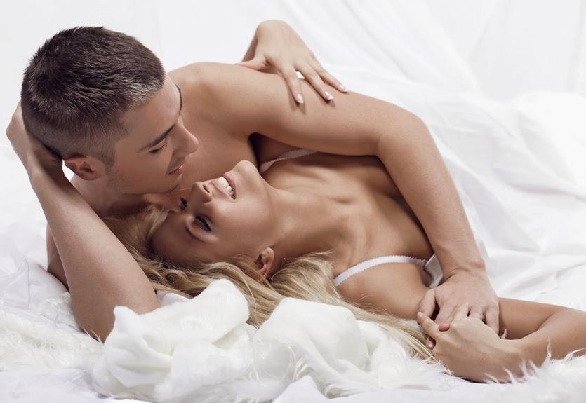 Sexy Couple On White
