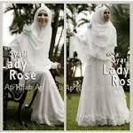 Gamis Lady Rose GC2901 HABIS