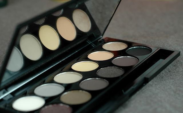 Sleek Au Naturel Palette Lidschatten