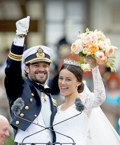 Prince Carl Philip and Sofia Hellqvist wedding photos