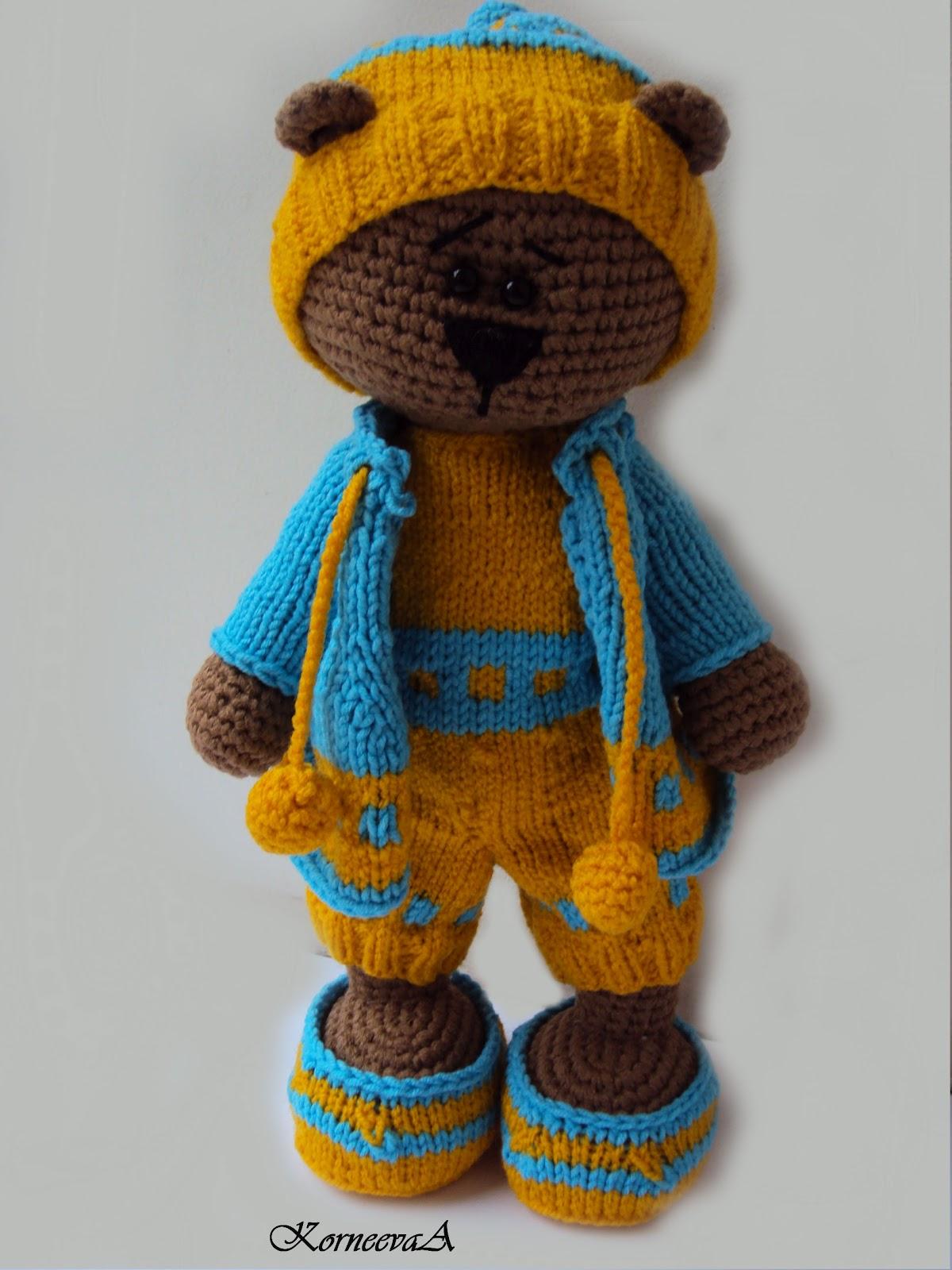 Одежда для игрушек  вязание