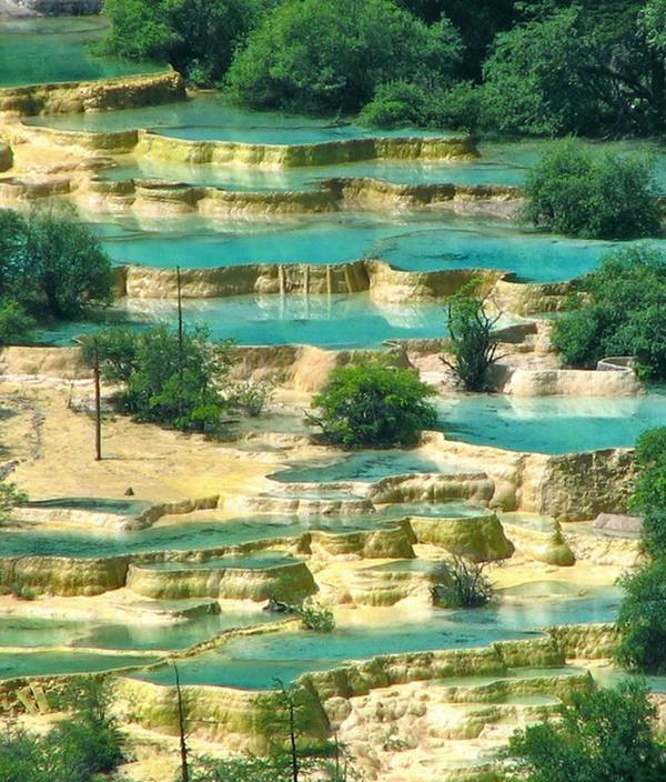 Huanglong Pools - China
