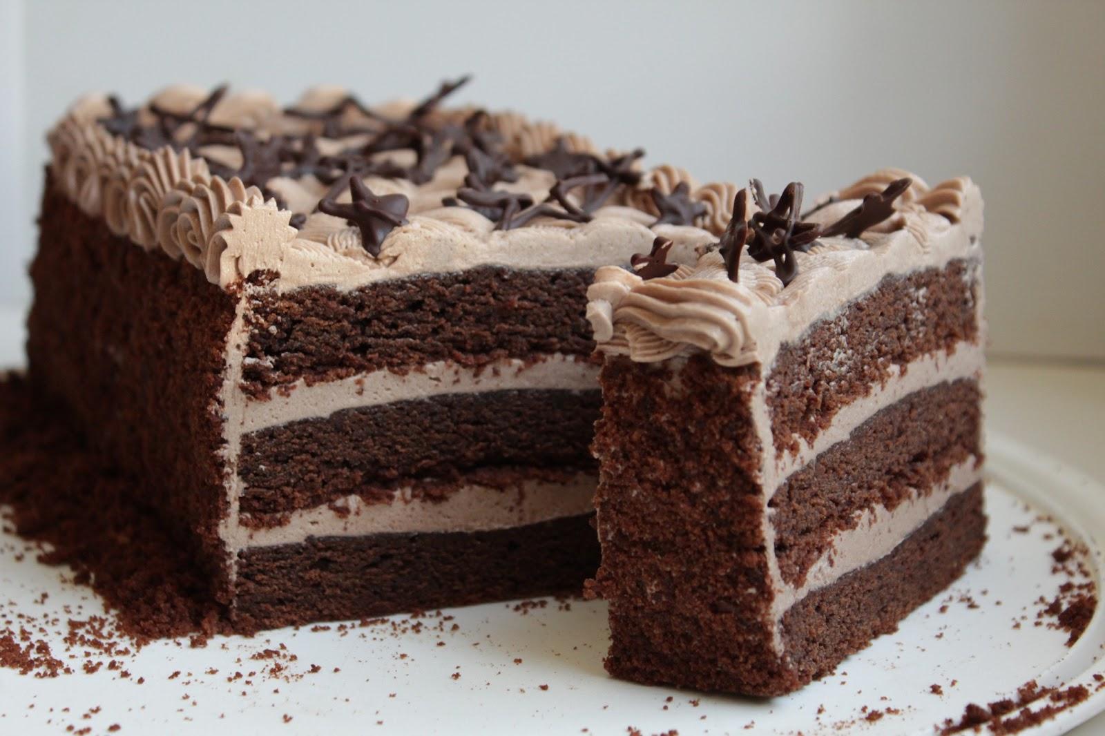 торт ночка с пропиткой рецепт