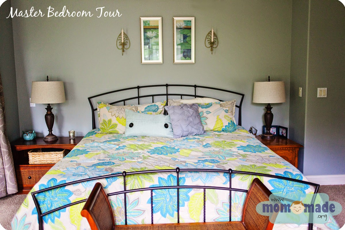 Master Bedroom Tour by Mom-Made