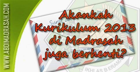 Nasib K13 di Madrasah
