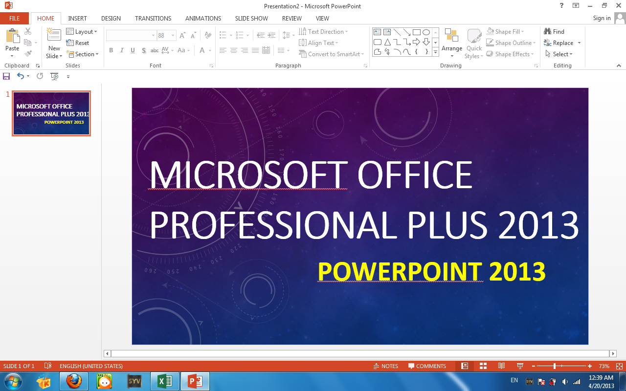 Download link for Professional Plus 2013