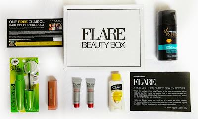 FLARE Classic Beauty Box #flarebeautybox #pgmom