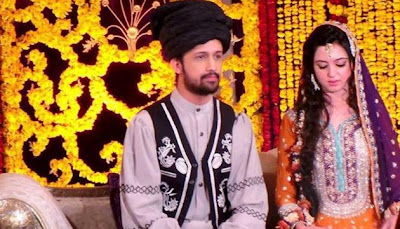 Atif Aslam - Sara Bharwana Wedding Pics