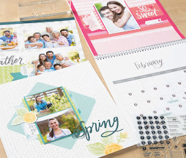 "Celebrate National Stamping Month with the ""Memories in the Making"" Cut-Above Calendar Kit!!"