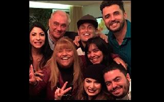 Após anunciarem a separação em julho deste ano, Latino e Rayanne Morais foram fotografados juntos na companhia de outros amigos, entre eles o jornalista Marcelo Rezende, Sylvia Design e Sérgio Mallandro, que postou o clique nesta sexta-feira, dia 31.