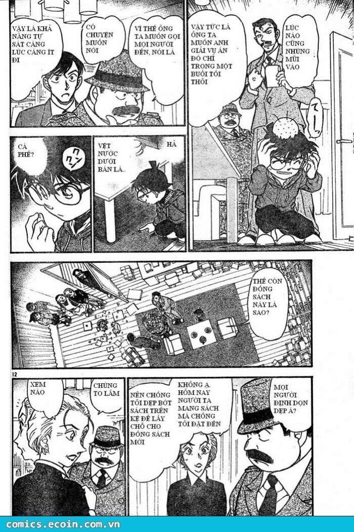 Detective Conan - Thám Tử Lừng Danh Conan chap 589 page 12 - IZTruyenTranh.com