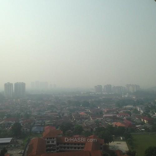 Jerebu di Kuala Lumpur kembali lagi