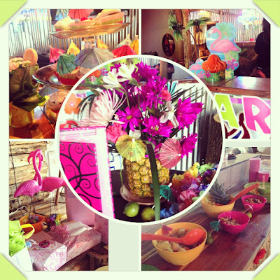 A Luau Them is Perfect for a Baby Shower - True Blue Style Event Planning