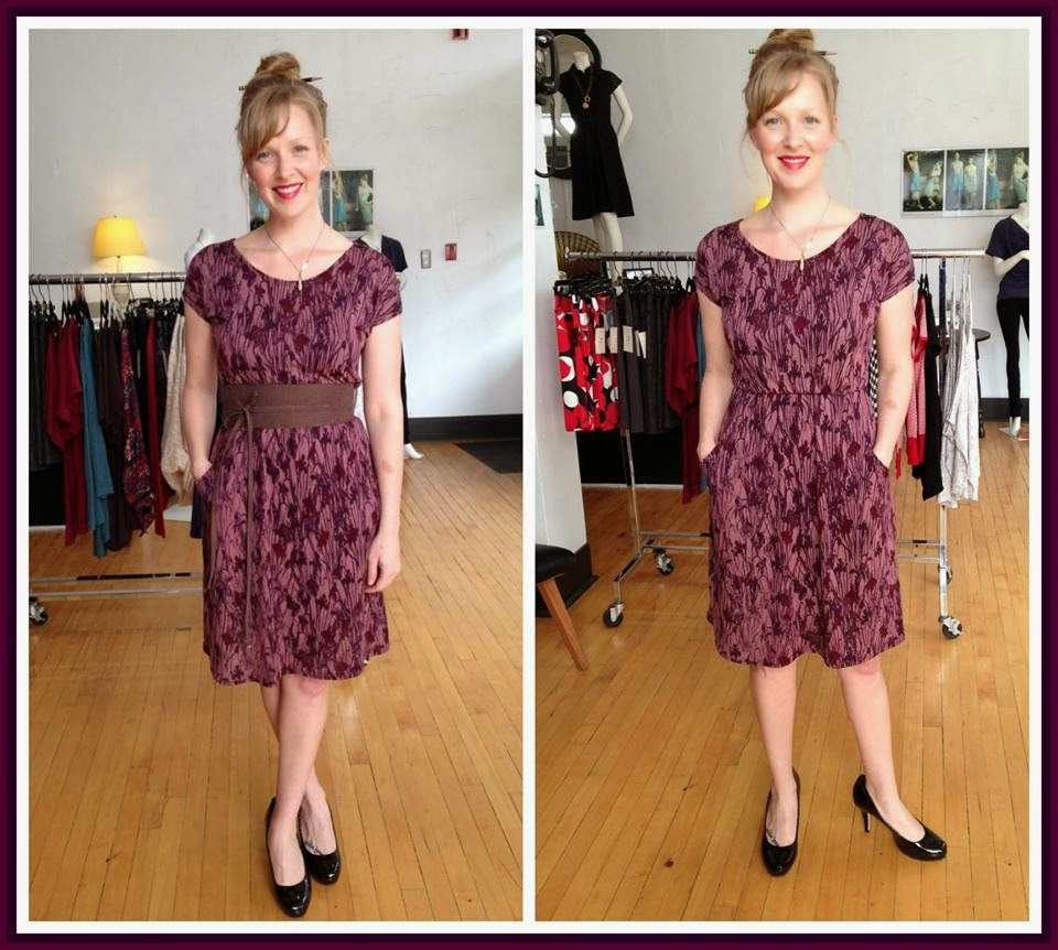 Amanda dress by Sarah Bibb and Obi belt by Sarah Bibb at Folly