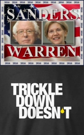 Sanders and Warren (or Warren and Sanders)