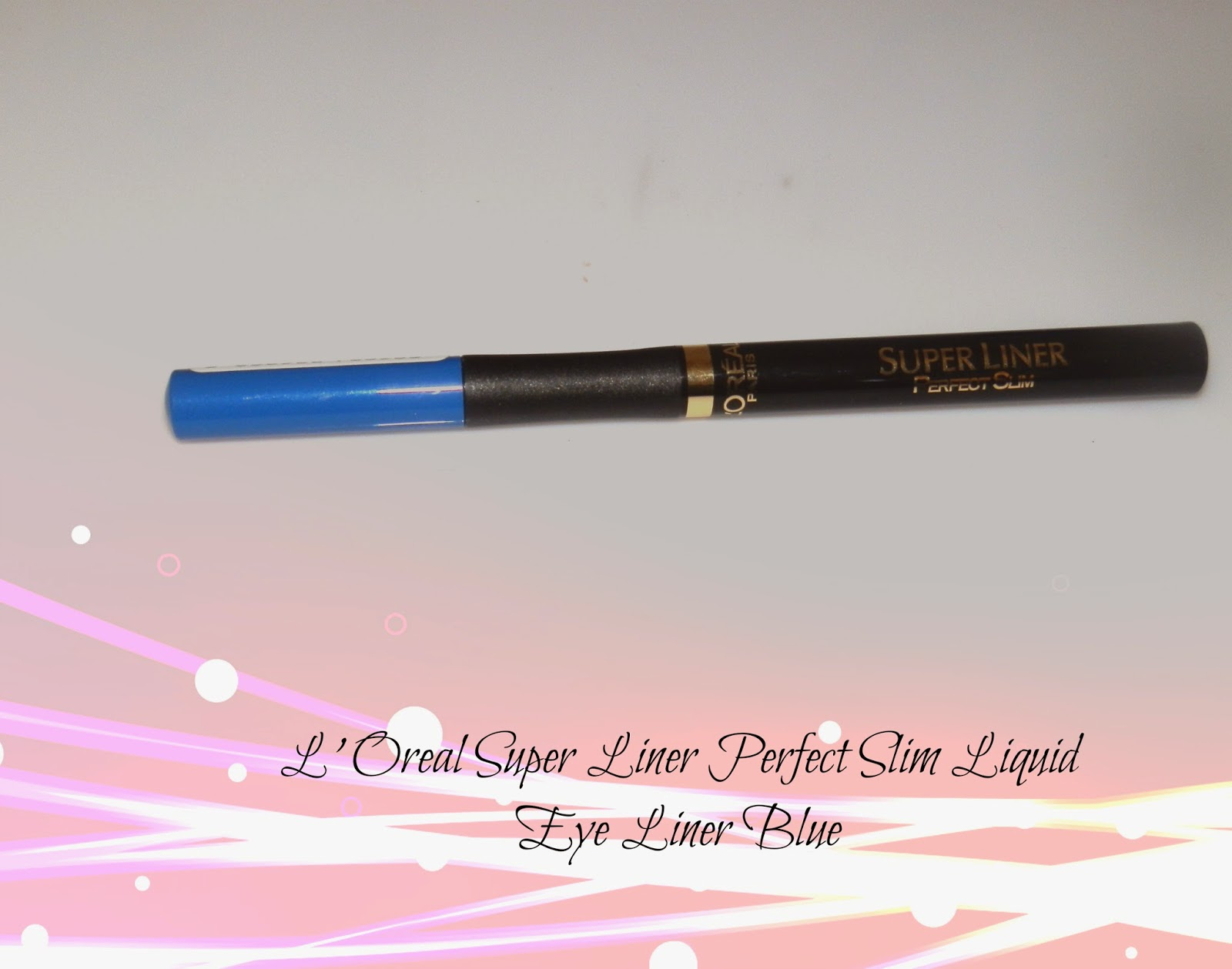 L'Oreal Super Liner Perfect Slim Liquid Eye Liner Blue