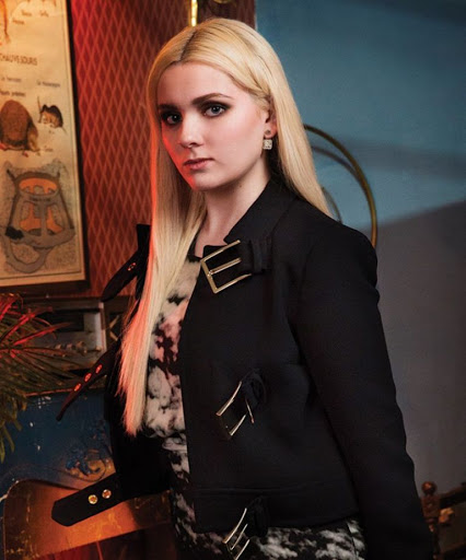 Abigail Breslin photo shoot for Bust Magazine October November 2015