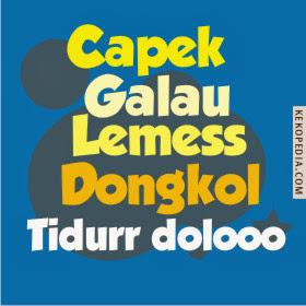 DP Lagi Capek