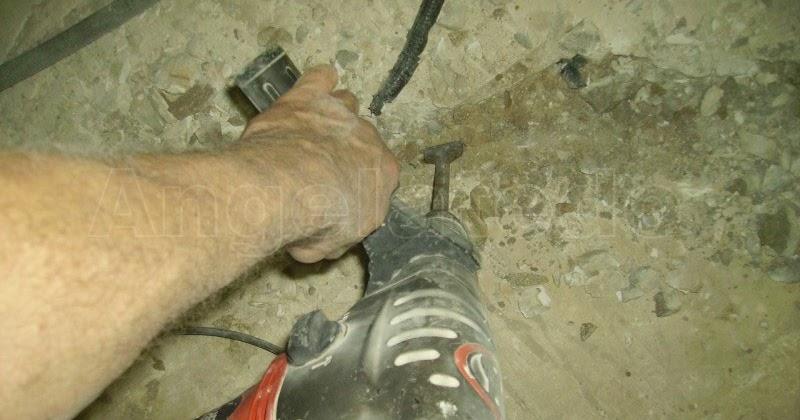 C mo hacer regolas para empotrar tubos en el suelo - Pegamento para escayola ...