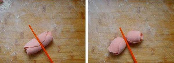 Tạo hình bánh hoa hồng