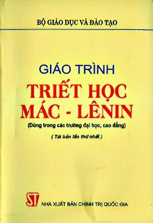 Tải: Giáo trình triết học Mác - Lênin